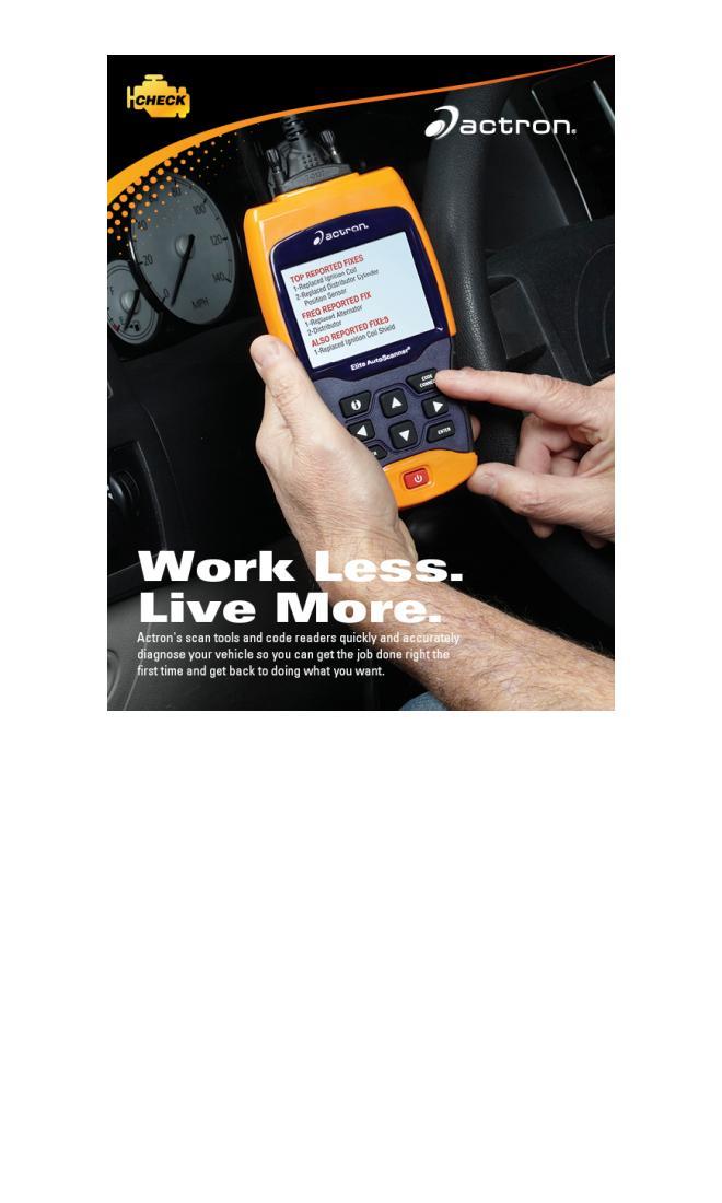 actron literature manuals automotive scan tools catalog rh actron com actron autoscanner plus cp9580 spanish user manual Actron Autoscanner CP9580 Manual