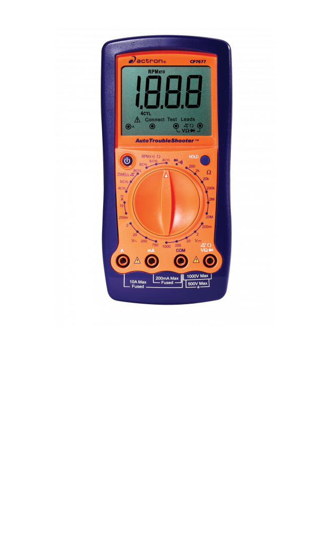 electrical testers multimeters test leads actron rh actron com Actron CP7677 Auto Trouble Shotter Actron CP9145 User Manual
