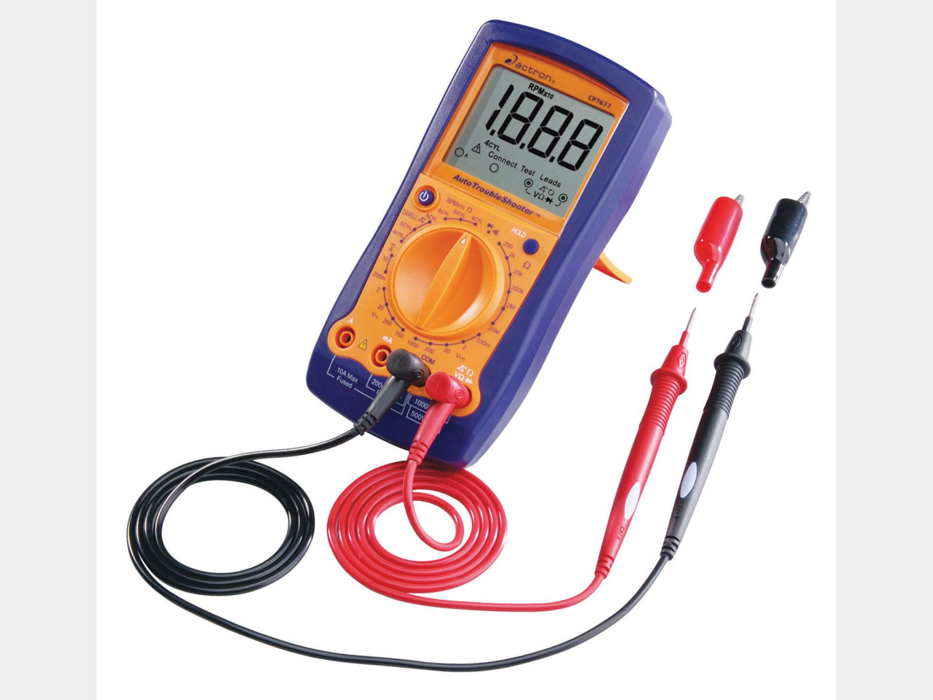 Auto Trouble Shooter Actron Multimeter Car Wiring
