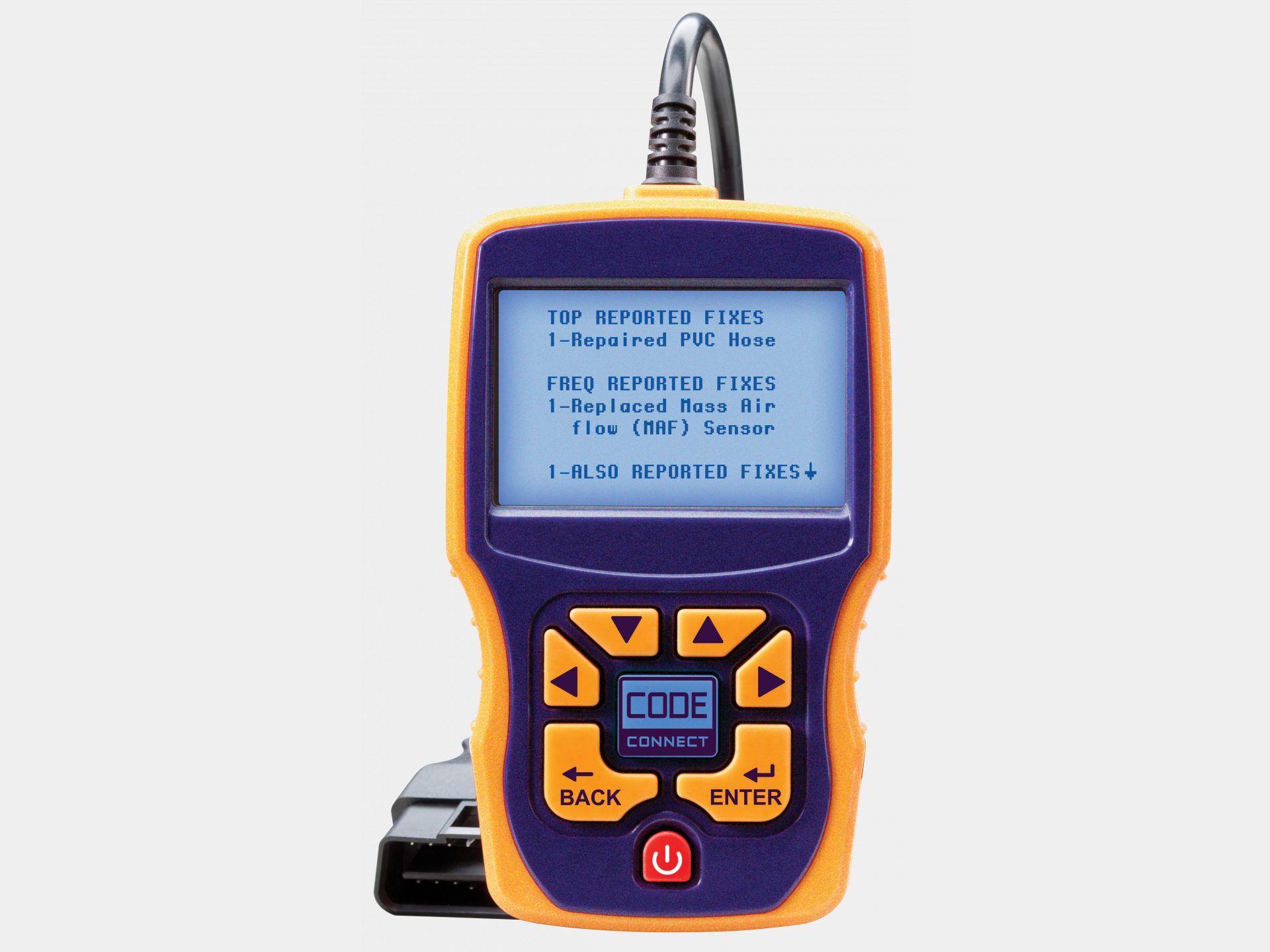 obd ii enhanced auto scanner plus with codeconnect abs actron rh actron com Actron AutoScanner Plus CP9580 Software Actron Autoscanner CP9580 Manual